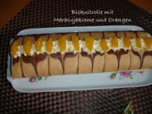 Biskuitrolle - Rezept
