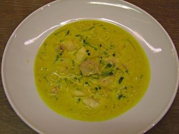 Rezept: Curry-Fischsuppe