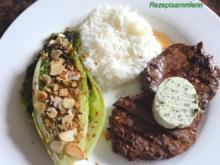 Fleisch:   STEAK`s  aus der Rinderhüfte - Rezept