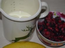 Frühlings Beeren Smoothie - Rezept