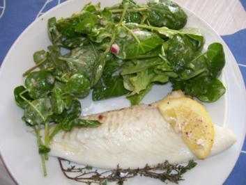 Rezept: barbue au four/ Glattbutt im Ofen