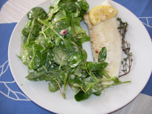 barbue au four/ Glattbutt im Ofen - Rezept - Bild Nr. 7