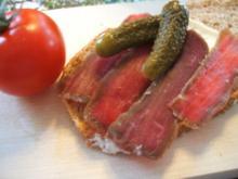 """Fleisch: """"Graved Steak"""" - Rezept"""