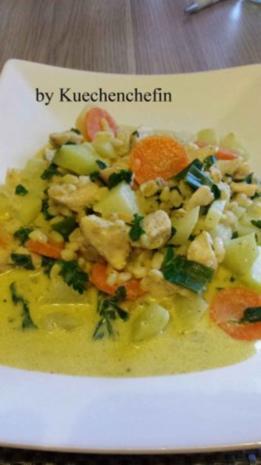 Gemüse Hähnchenbrust Pfanne mit Ebly - Rezept - Bild Nr. 6