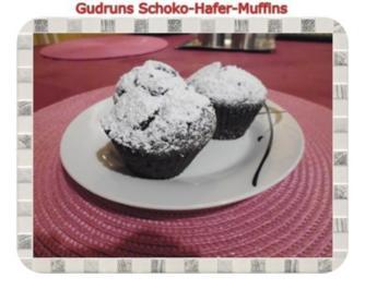 Muffins: Schoko-Hafer-Muffins - Rezept