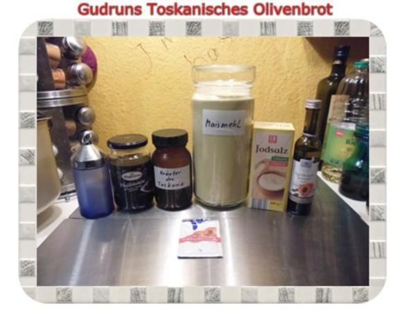 Brot: Toskanisches Olivenbrot - Rezept - Bild Nr. 2