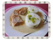 Fisch: Pikanter Kabeljau mit Thymian-Limette-Sahne - Rezept