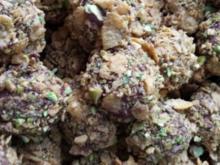 Schoko - Cornflakes - Pistazien - Cookies du maroc - Rezept