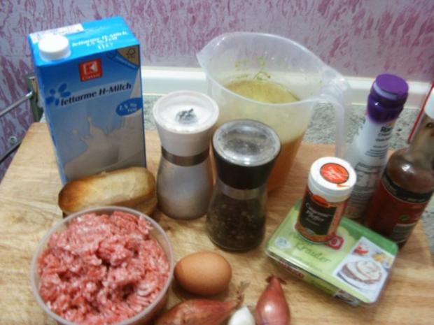 Hackklösschen mit Käsesoße - Rezept - Bild Nr. 2