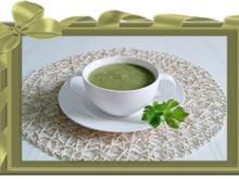 Bärlauch Cremesuppe - Rezept