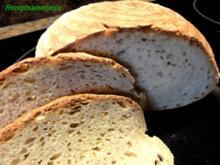 Brot:   WEIZEN - MISCHBROT  (750gr.) - Rezept