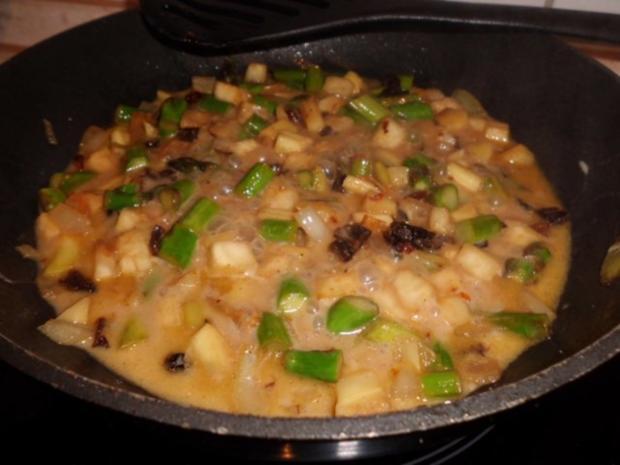 Pfannengericht: Gemüseragout mit Nudeln - Rezept - Bild Nr. 4