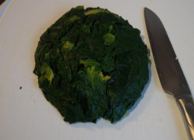 Omelett mit frischen Blattspinat - Rezept - Bild Nr. 7