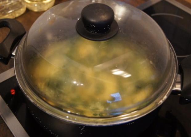 Omelett mit frischen Blattspinat - Rezept - Bild Nr. 13