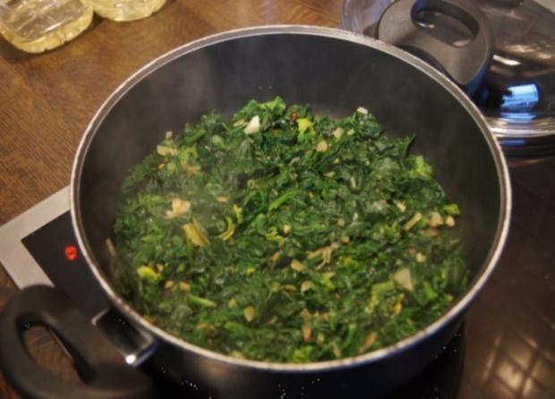 Omelett mit frischen Blattspinat - Rezept - Bild Nr. 11