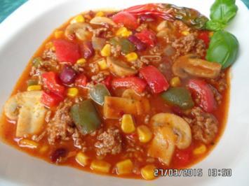 Chili-Con-Carne - Rezept