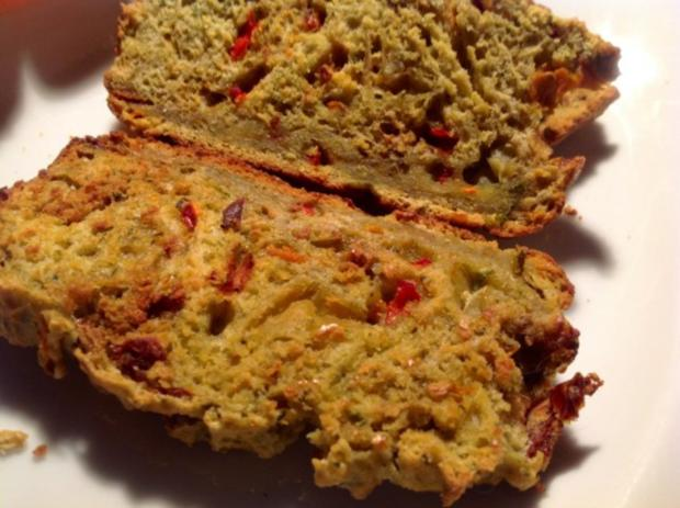mediterranes Rosmarin-Brot ohne Hefe - Rezept - Bild Nr. 3