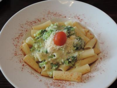 Broccoli - Mandel - Sauce über Pasta - Rezept