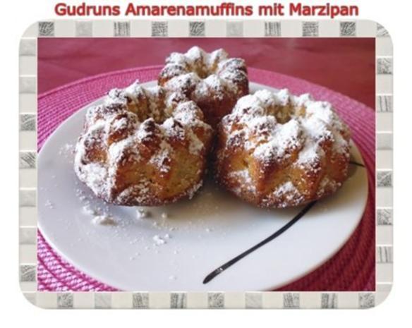 Muffins: Amarena-Küchlein - Rezept
