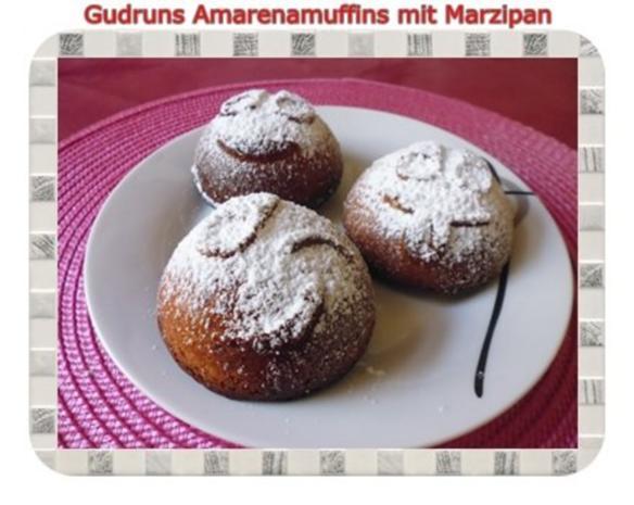Muffins: Amarena-Küchlein - Rezept - Bild Nr. 2