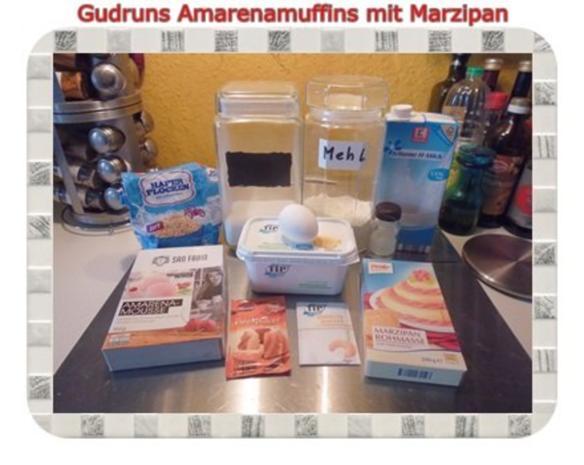 Muffins: Amarena-Küchlein - Rezept - Bild Nr. 3