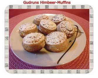 Rezept: Muffins: Himbeermuffins