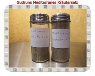 Gewürz: Mediterranes Kräutersalz - Rezept