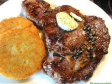 Fleisch:   ENTRECOTE`s  aus der Grillpfanne - Rezept