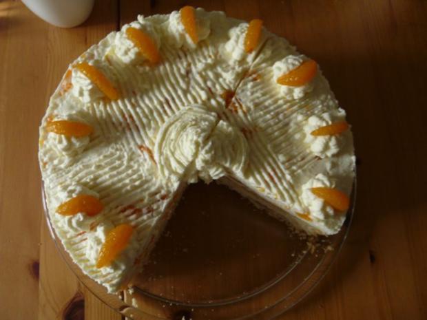 Mandarinen-Joghurt-Torte - Rezept - Bild Nr. 2