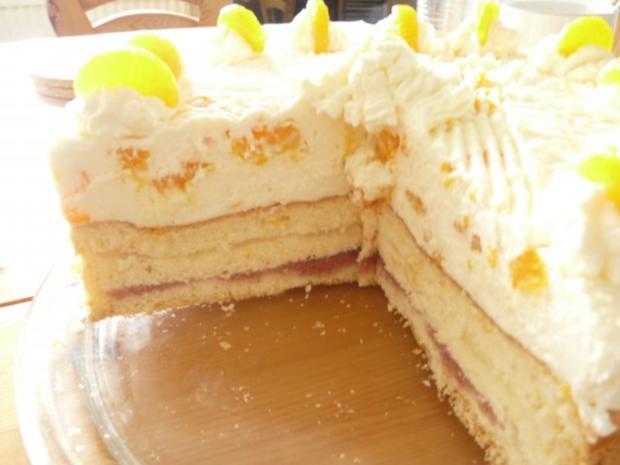 Mandarinen-Joghurt-Torte - Rezept - Bild Nr. 3