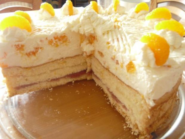 Mandarinen-Joghurt-Torte - Rezept - Bild Nr. 4