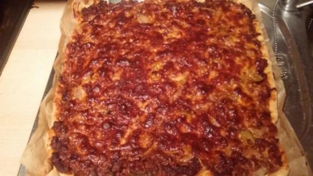 "BIG American Partypizza ""Texasstyle"" - Rezept - Bild Nr. 2"