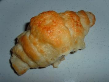Mozzarella-Schinken-Croissant - Rezept