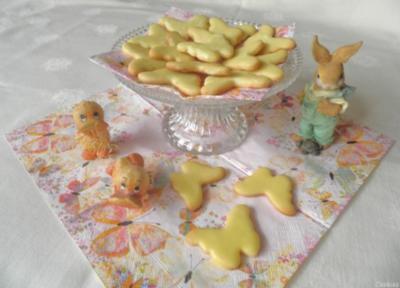 Zitronen - Kekse ... - Rezept
