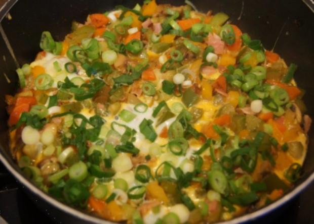 Pikantes Omelett mit Gemüse II - Rezept - Bild Nr. 10