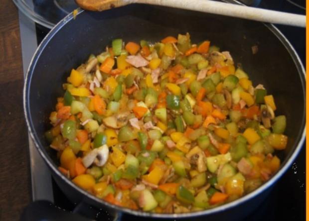 Pikantes Omelett mit Gemüse II - Rezept - Bild Nr. 7