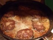 Tinis Cheeseburger - Rezept