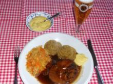 """""""Oma-Friede`s""""- Geschmorte Schwein`s-Kniebeine (Rzpt. um 1885) - Rezept"""