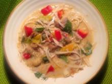 asiatische Kokossuppe - Rezept