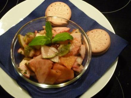 Exotischer - Winterlicher Fruchtsalat - Rezept