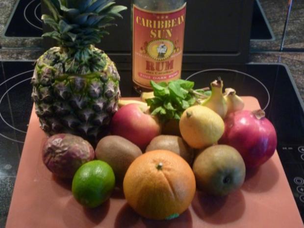 Exotischer - Winterlicher Fruchtsalat - Rezept - Bild Nr. 2