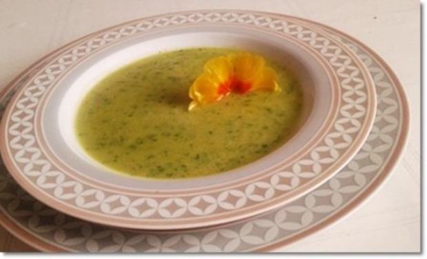 Eine fruchtige  Avocado – Bärlauch- Cremesuppe - Rezept - Bild Nr. 2