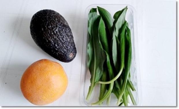 Eine fruchtige  Avocado – Bärlauch- Cremesuppe - Rezept - Bild Nr. 5