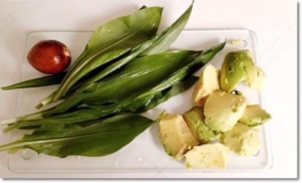 Eine fruchtige  Avocado – Bärlauch- Cremesuppe - Rezept - Bild Nr. 7
