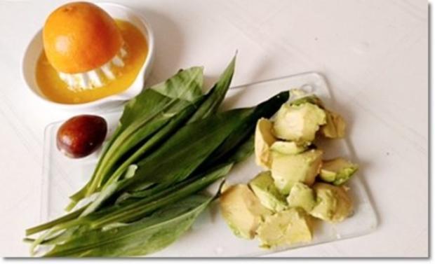Eine fruchtige  Avocado – Bärlauch- Cremesuppe - Rezept - Bild Nr. 8