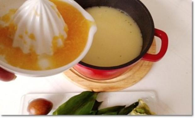 Eine fruchtige  Avocado – Bärlauch- Cremesuppe - Rezept - Bild Nr. 11