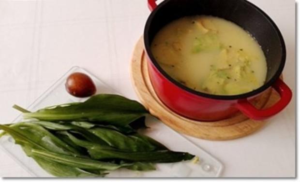 Eine fruchtige  Avocado – Bärlauch- Cremesuppe - Rezept - Bild Nr. 12
