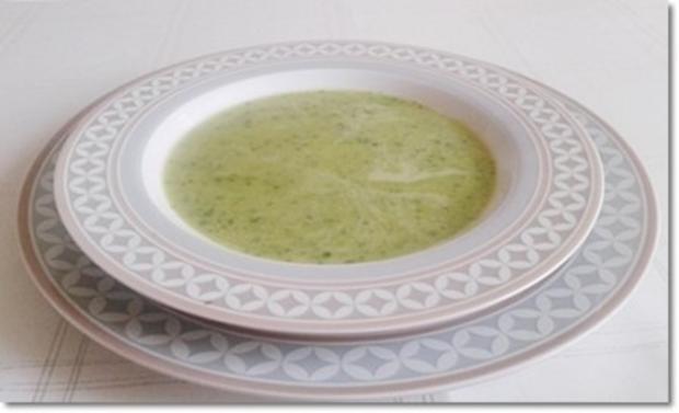 Eine fruchtige  Avocado – Bärlauch- Cremesuppe - Rezept - Bild Nr. 16