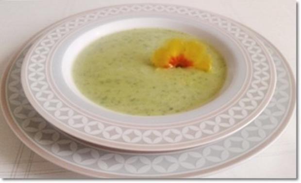 Eine fruchtige  Avocado – Bärlauch- Cremesuppe - Rezept - Bild Nr. 17