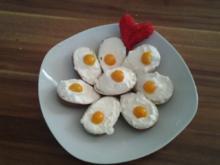 Schoko Ü-eier mit Zitronencreme - Rezept